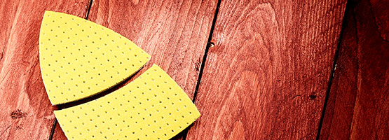 MENZER Ultrapad: Developed for low-dust sanding
