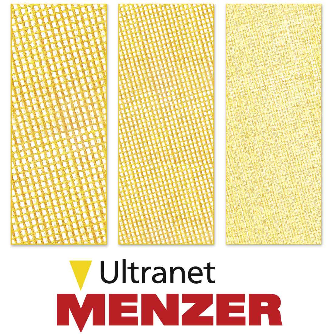 MENZER Ultranet® for drywall sanders / Ø 225 mm / fused aluminium oxide