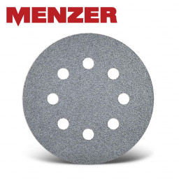 25 MENZER Hook /& Loop Sanding Discs for Drywall Sanders Ø 225 mm G40–240 6 hole