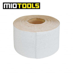 MioTools sanding paper roll for hand sanders / 115 mm x 50 m / stearated Aluminium Oxide