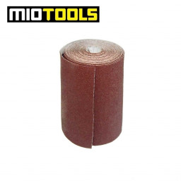 MioTools sanding paper roll for hand sanders / 93 mm x 5 m / Aluminium Oxide