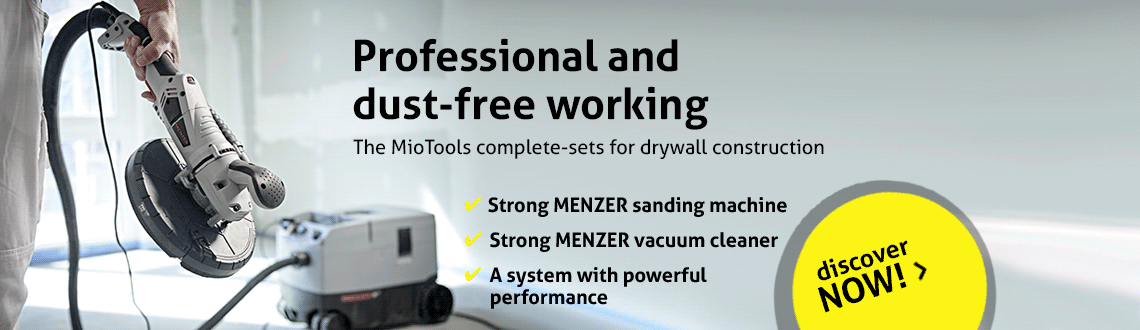 Professional and dust-free working